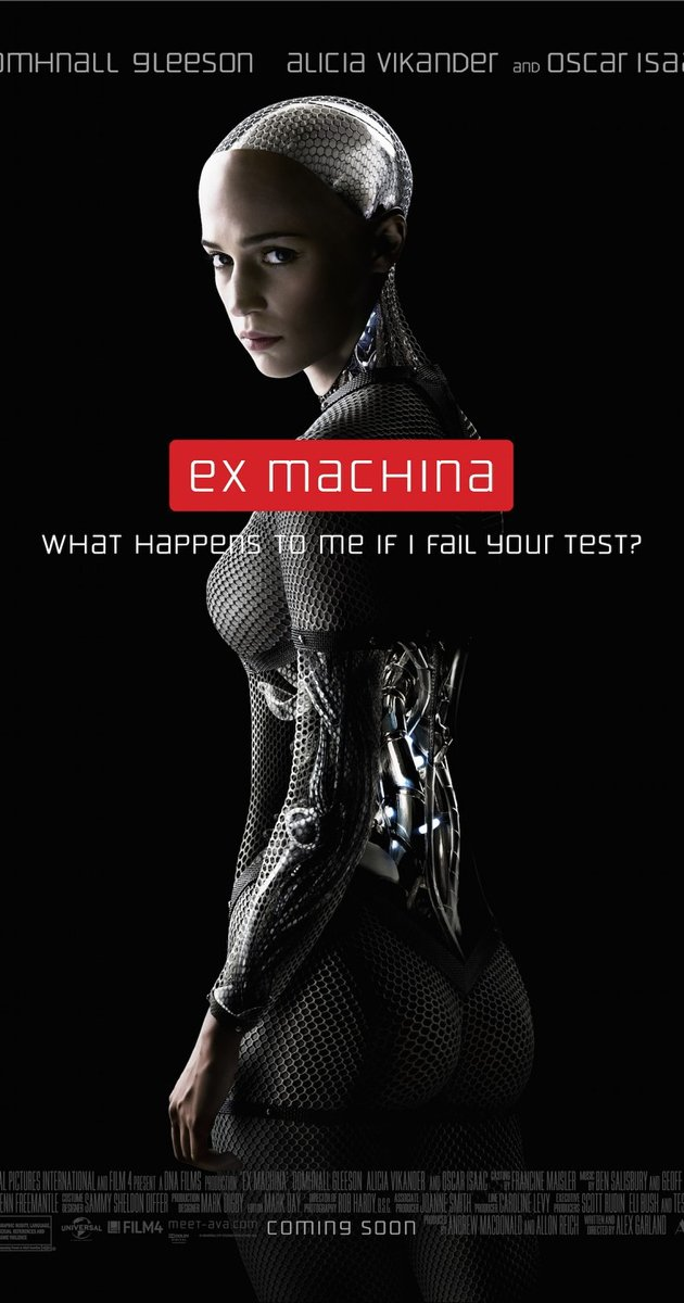 Ex_Machina: Instinto Artificial (2015)