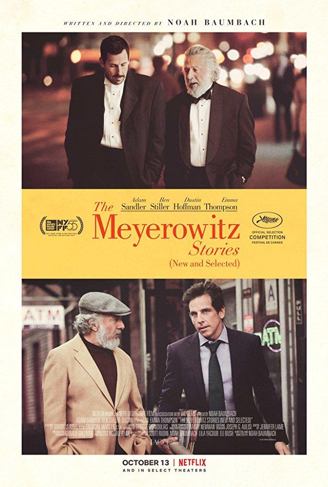 Os Meyerowitz: Família Não Se Escolhe (2017)