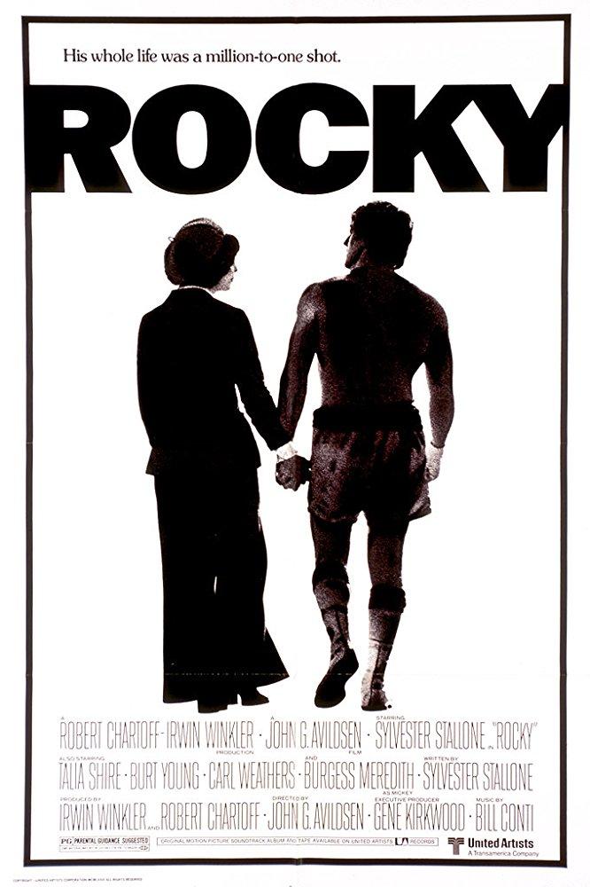 Rocky: Um Lutador (1976)