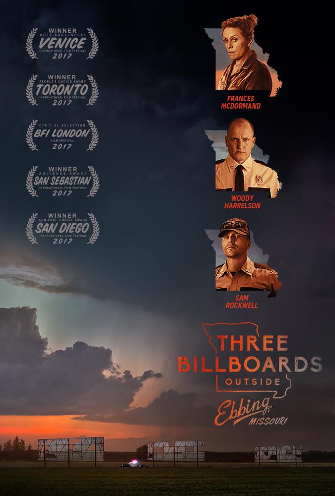Três Anúncios para um Crime (2017)
