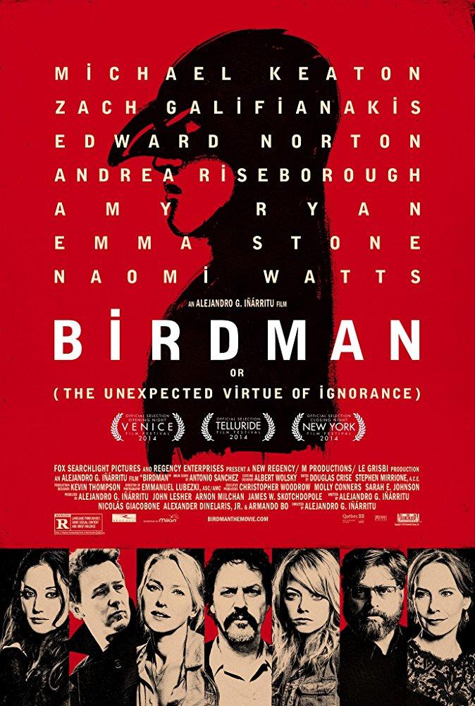 Birdman ou (A Inesperada Virtude da Ignorância) (2014)
