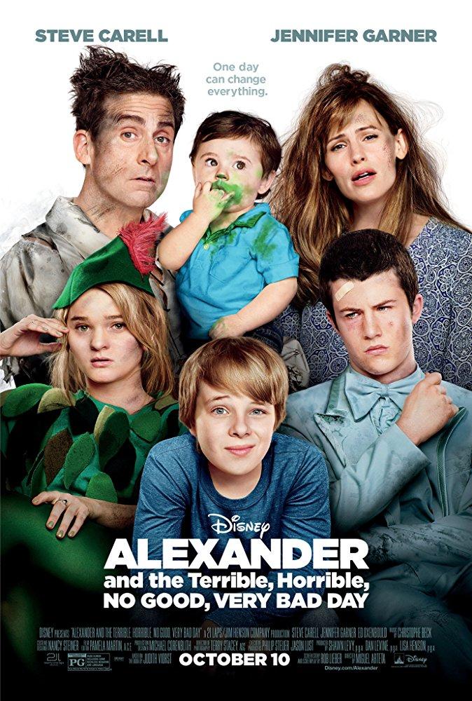 Alexandre e o Dia Terrivel, Horrível, Espantoso e Horroroso (2014)