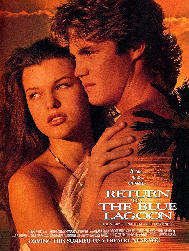 De Volta à Lagoa Azul (1991)