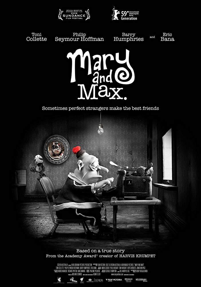 Mary e Max: Uma Amizade Diferente (2009)