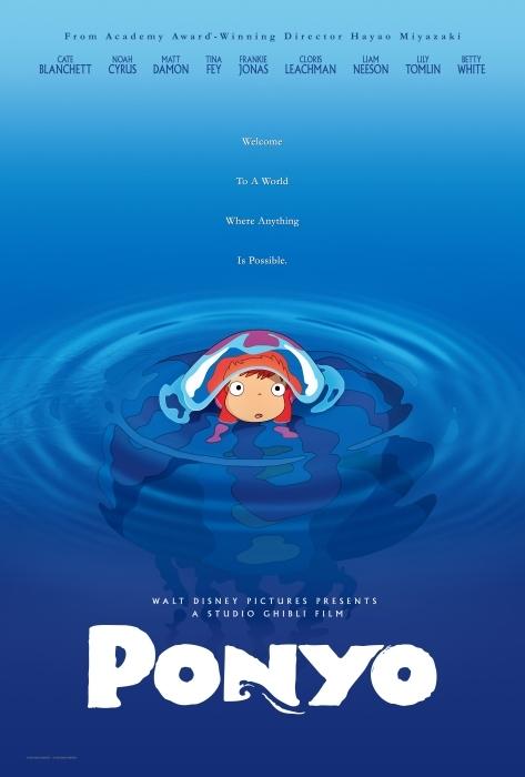 Ponyo: Uma Amizade que Veio do Mar (2008)