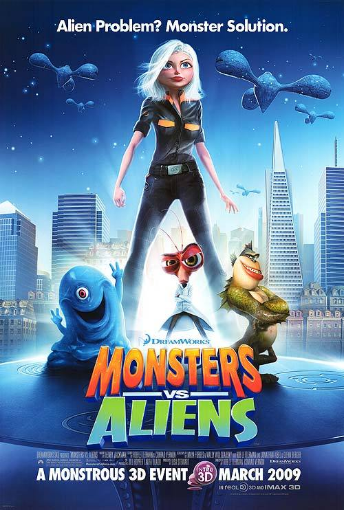 Monstros vs. Alienígenas (2009)