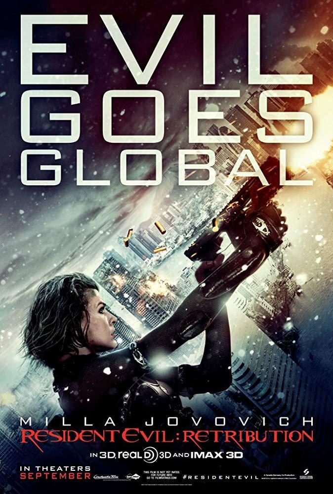 Resident Evil 5: Retribuição (2012)