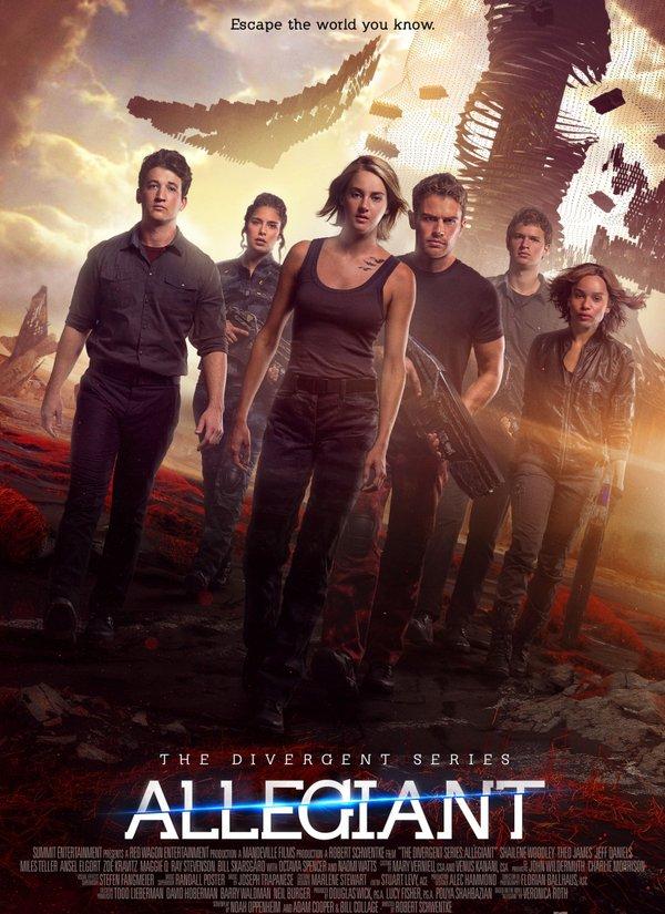 A Série Divergente: Convergente (2016)