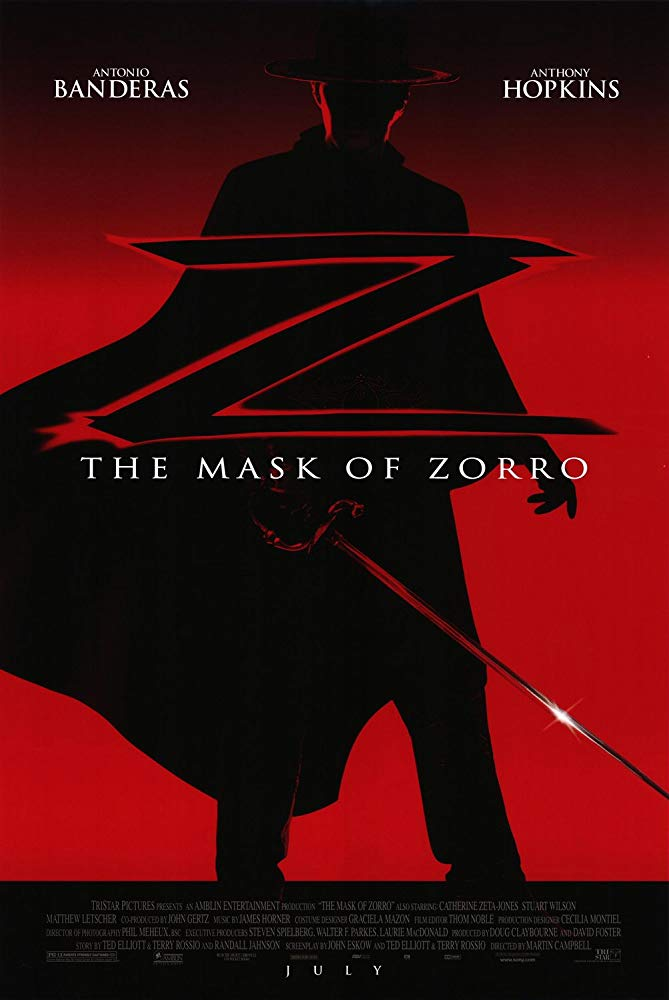 A Máscara do Zorro (1998)