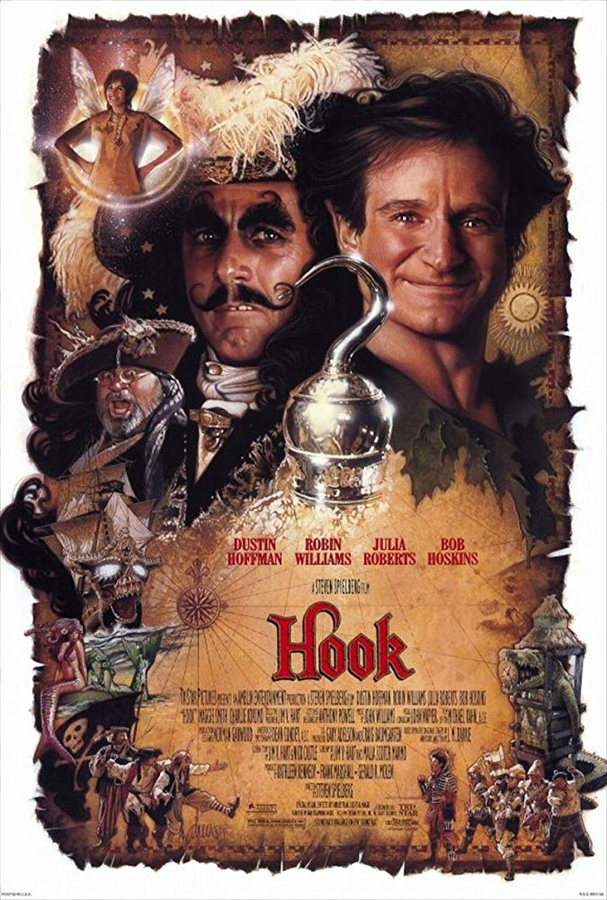 Hook, a Volta do Capitão Gancho (1991)