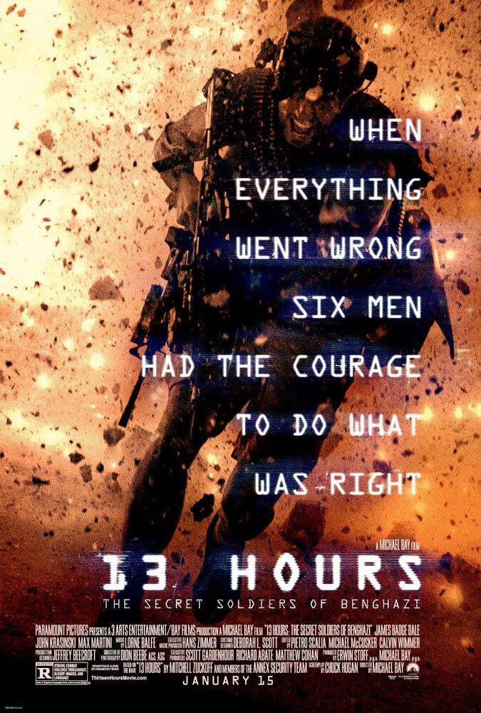 13 Horas: Os Soldados Secretos de Benghazi (2016)