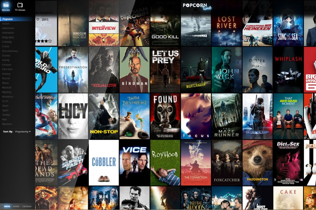 Baixar Popcorn Time para Windows 8