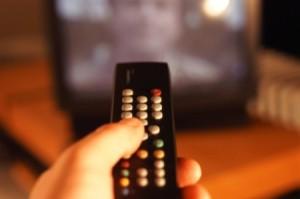 Controle remoto televisão